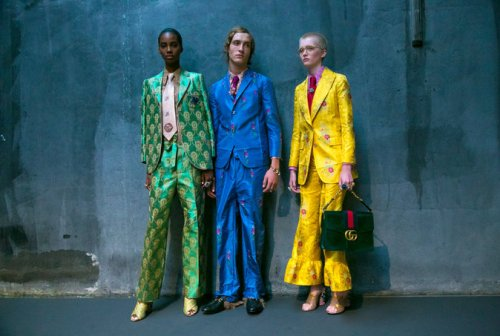 From NY Times article re the Gucci Spring 2016 collection.