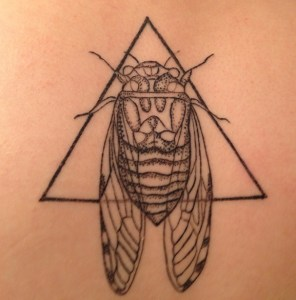 She's got the talent – this was Belle's own design, which impressed even the veteran tattooist.