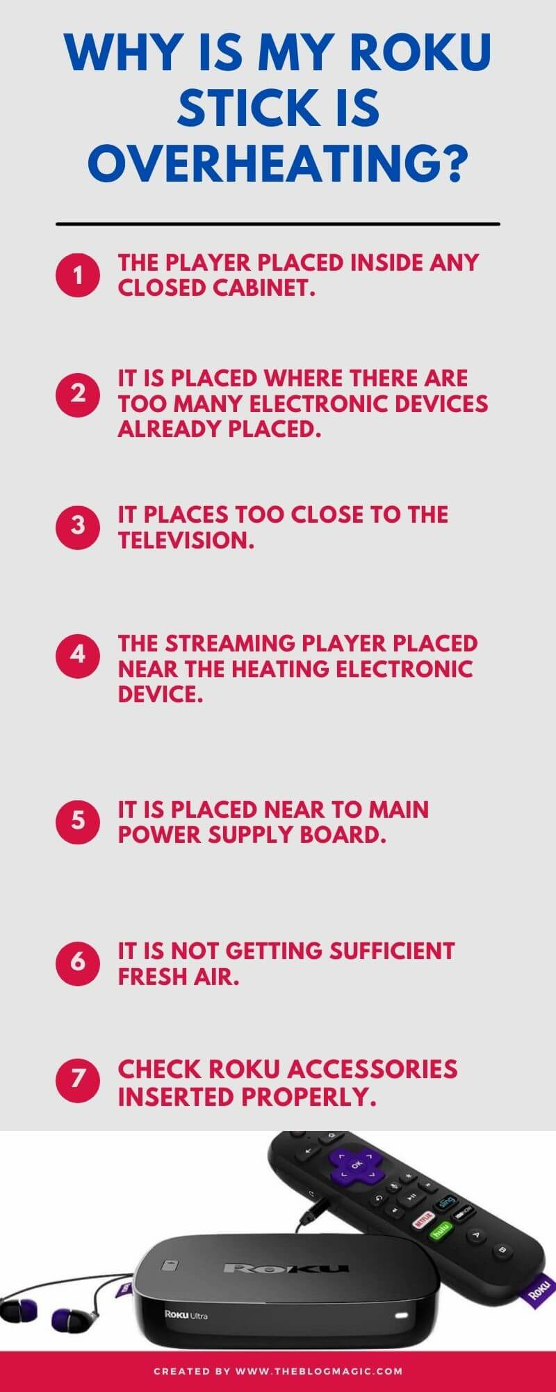 Why Is My Roku Stick Is Overheating infographic?