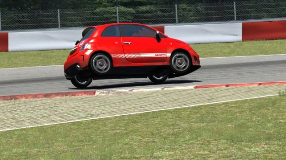 Fiat 500 Abarth in Assetto Corsa