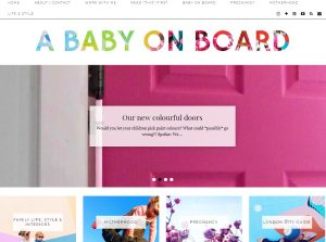 Top Pregnancy Blogs - A Baby on Board