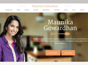Indian Food Blogs - Maunika Gowardhan