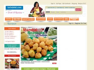 Top 5 indian food blogs the blog review indian food blogs tarladalal forumfinder Choice Image