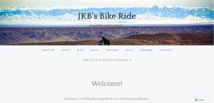 Top Cycling Touring Blogs - JKB's Bike Ride