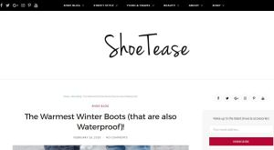 Top Shoe Blogs - Shoe Tease