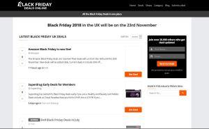 Top Black Friday Blogs - Black Friday Deals Online UK