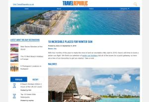 Top Winter Travel Blogs - Travel Republic