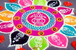 Latest Rangoli Designs Freehand