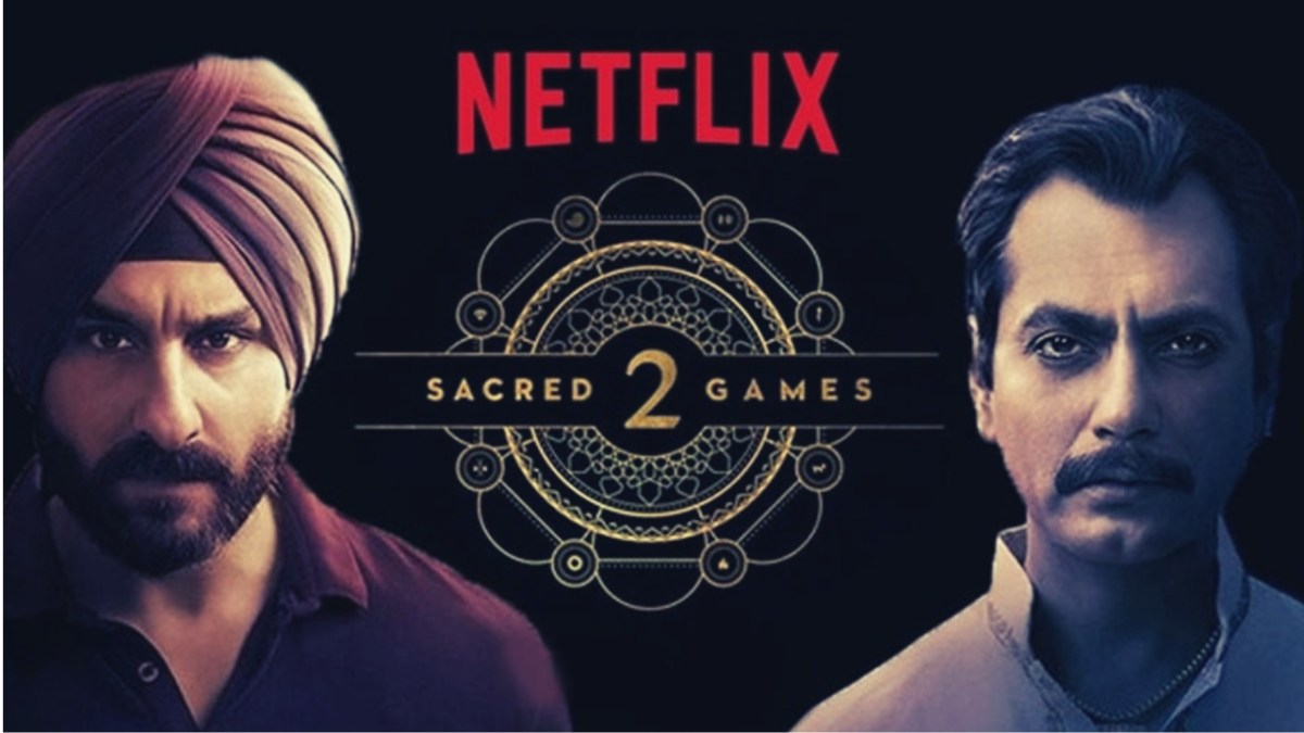 Sacred games season 2? Yeah you got it right