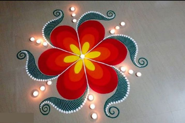 22 Easy Diwali Rangoli Designs Which Will Blow Your Mind Tbr