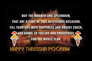 Happy Thrissur Pooram 2019 Wishes