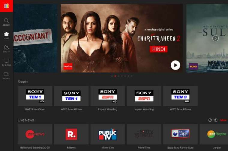 Airtel Xstream online streaming app