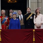 Kate Middleton and the Royals at Trooping of the Colour