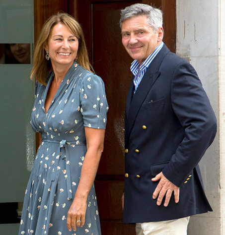 Mike and Carole Middleton