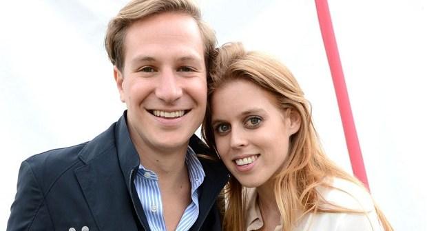 Princess Beatrice and David Clark