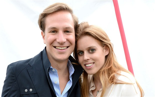 Princess Beatrice and David Clark