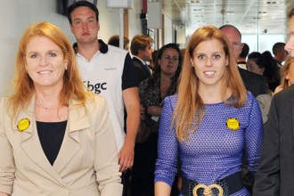 Princess Beatrice and Duchess of York