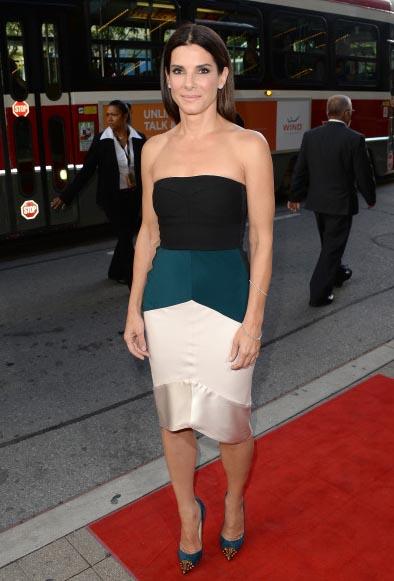 Sandra Bullock - Gravity Premier - Narciso Rodriguez