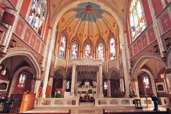 St Marys Bristol Altar