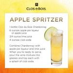 Cocktail Hour || Apple Spritzer