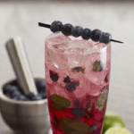 Cocktail Hour | Blueberry Mojito