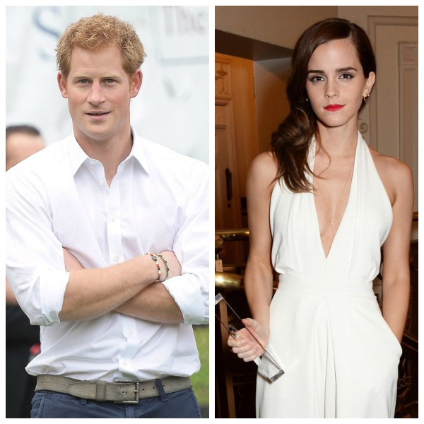 Are Prince Harry And Emma Watson Dating!?