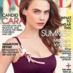 Cara Delevingne Covers Vogue July 2015