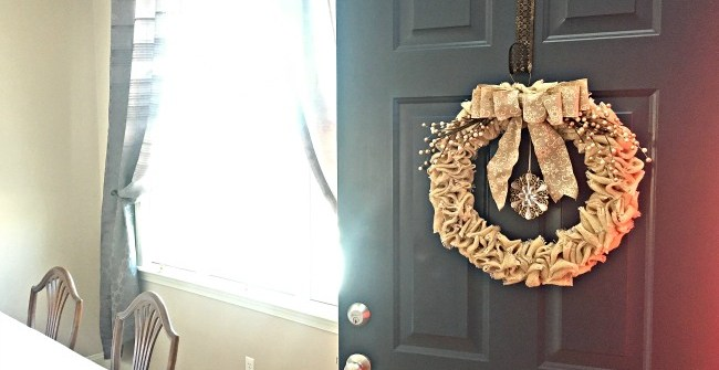 Home Decor Front Door Wreath