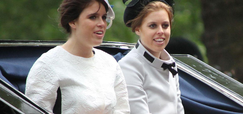 Princess Beatrice + Princess Eugenie