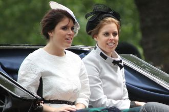 Princess Beatrice + Princess Eugenie