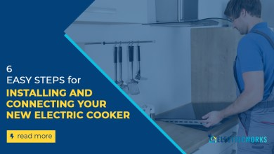 Photo of 6 Easy Steps: Installing and Connecting Your New Electric Cooker