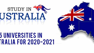 Photo of Top 5 universities in Australia for 2020-2021