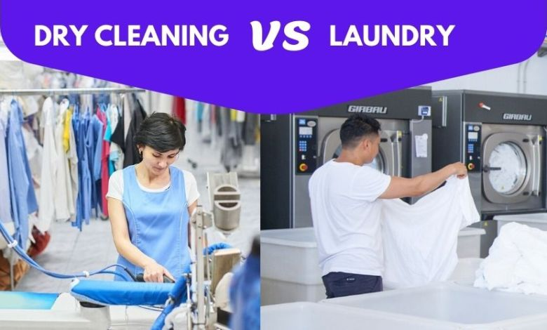 Dry Cleaning VS Laundry