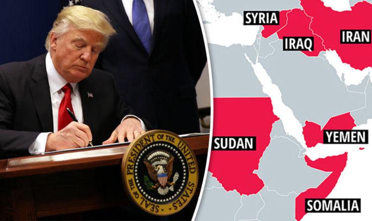 us ban countries