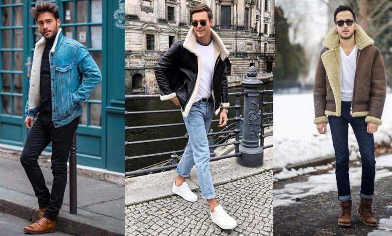 10 Ways to Wear Shearling Bomber Jacket