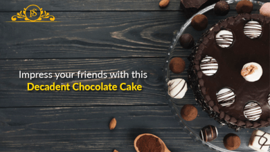 Photo of Impress your friends with this Decadent Chocolate Cake