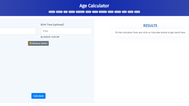 Photo of Age Calculator For Everyone 2021
