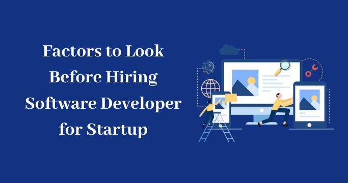Developer for Startup