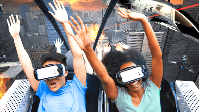 Photo of Use of VR Technology for Entertainment Purpose