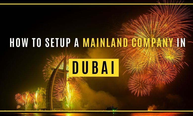Mainland Company in Dubai