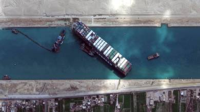 Photo of Ezeparking Team Reviews on Cruise Ship wedged in the Suez Canal