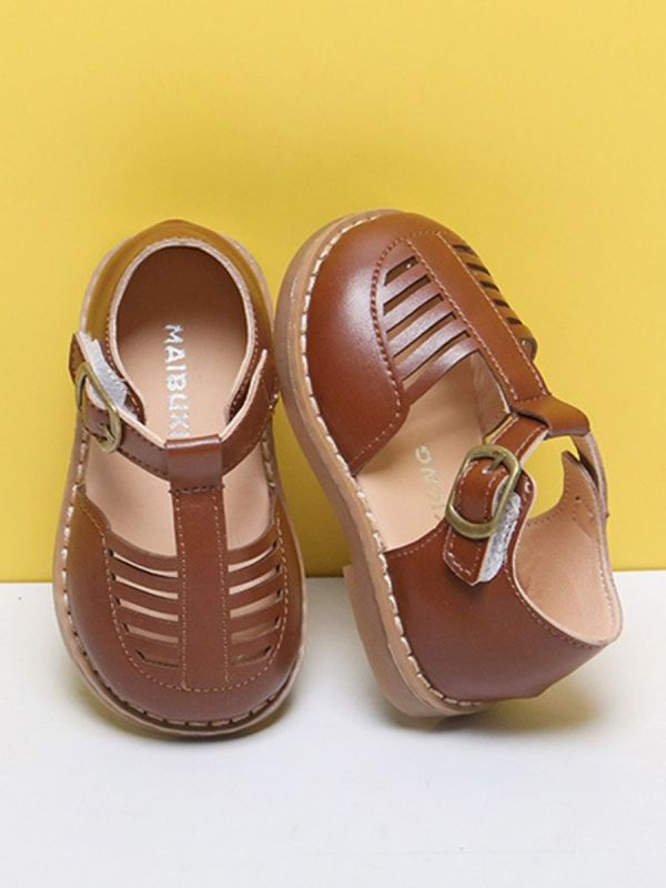Closed-Toe Sandals For Baby Toddler Girl