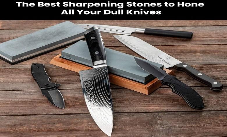 How to sharpen knife whetstone
