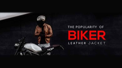 Photo of THE POPULARITY OF BIKER LEATHER JACKET