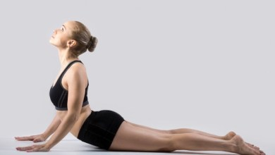 Photo of Yoga Pose for glowing skin