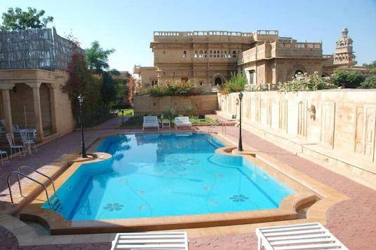 booking hotels like WelcomHeritage Mandir Palace Jaisalmer