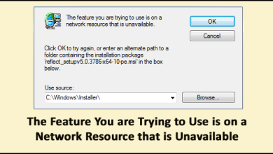 Photo of FIXED: Feature You are Trying to Use is on a Network Resource that is Unavailable