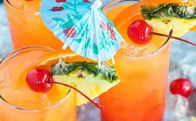 Malibu Summer Rose Cocktail The Blond Cook