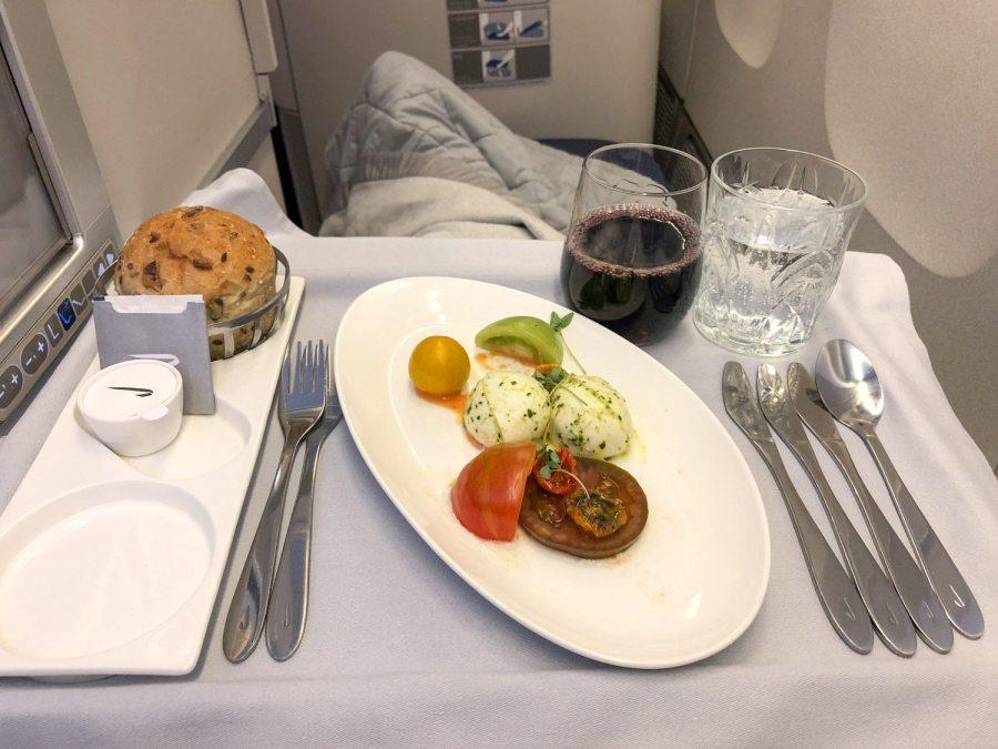 Food on British Airways