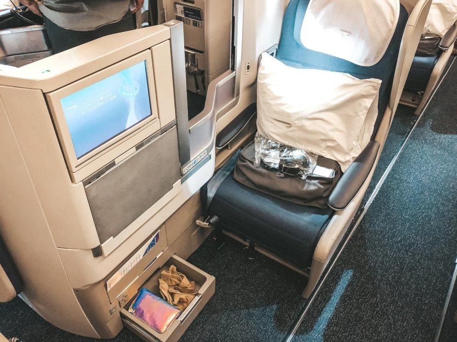 Seats on British Airways